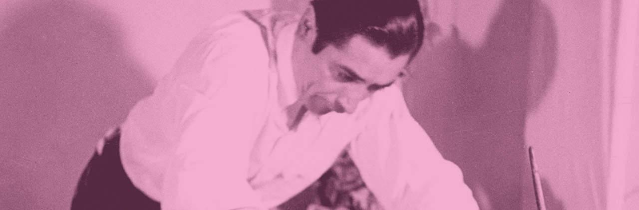 Ramón Valdiosera, quien inventó el color rosa mexicano