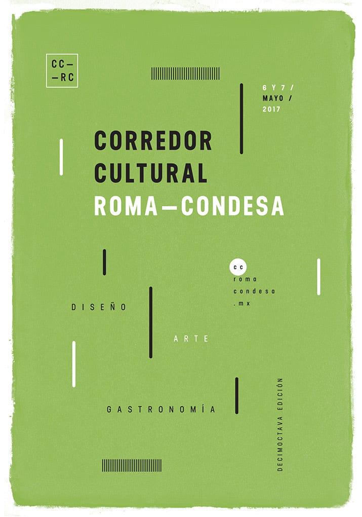 XVIII edición del Corredor Cultural Roma Condesa