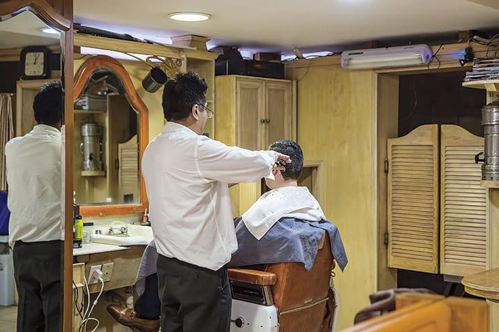 Las peluquerías de barrio en Polanco, Estética París 2.
