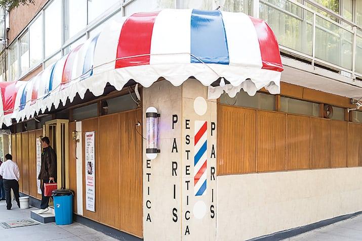 Las peluquerías de barrio en Polanco, Estética París.