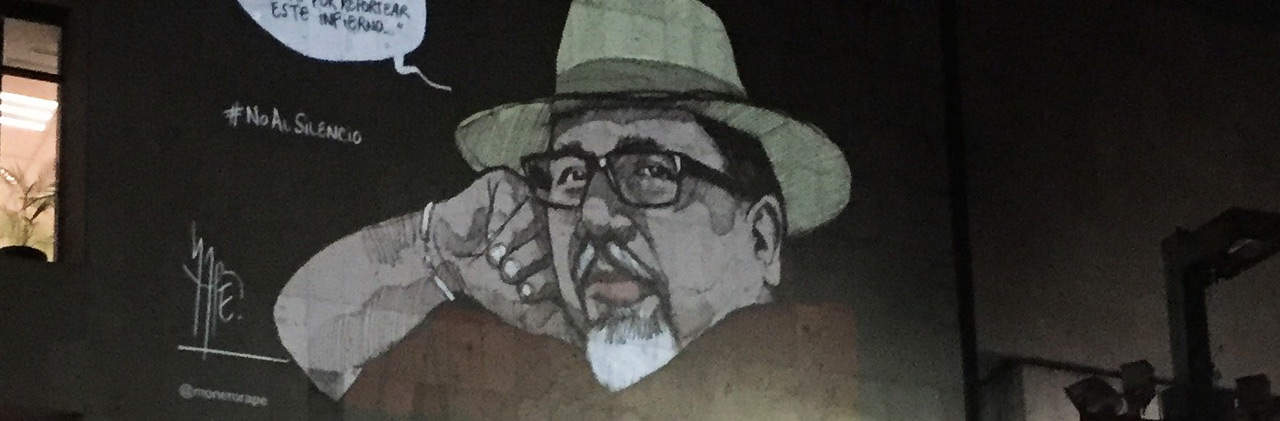 asesinato de Javier Valdez, portada