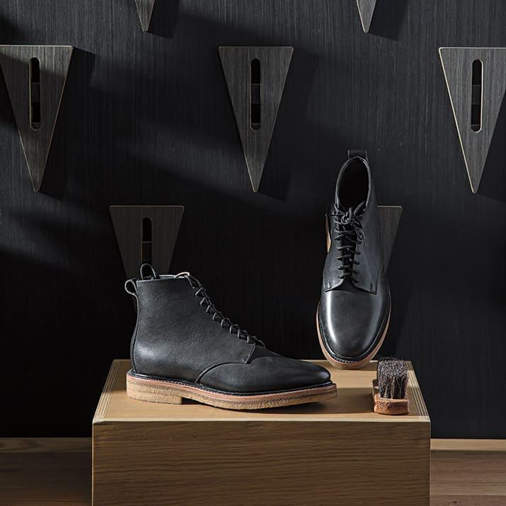 Unmarked, zapatos artesanales