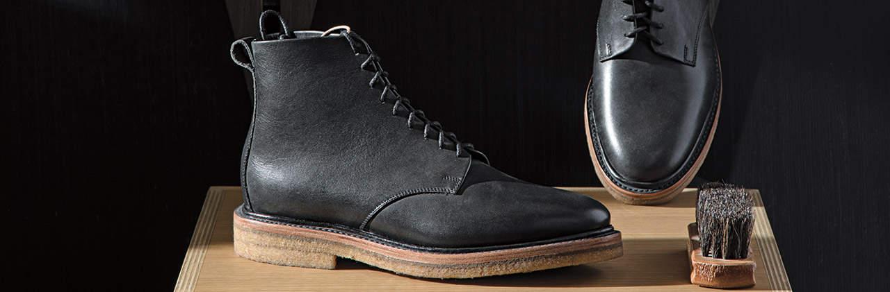 Unmarked, zapatos artesanales, portada