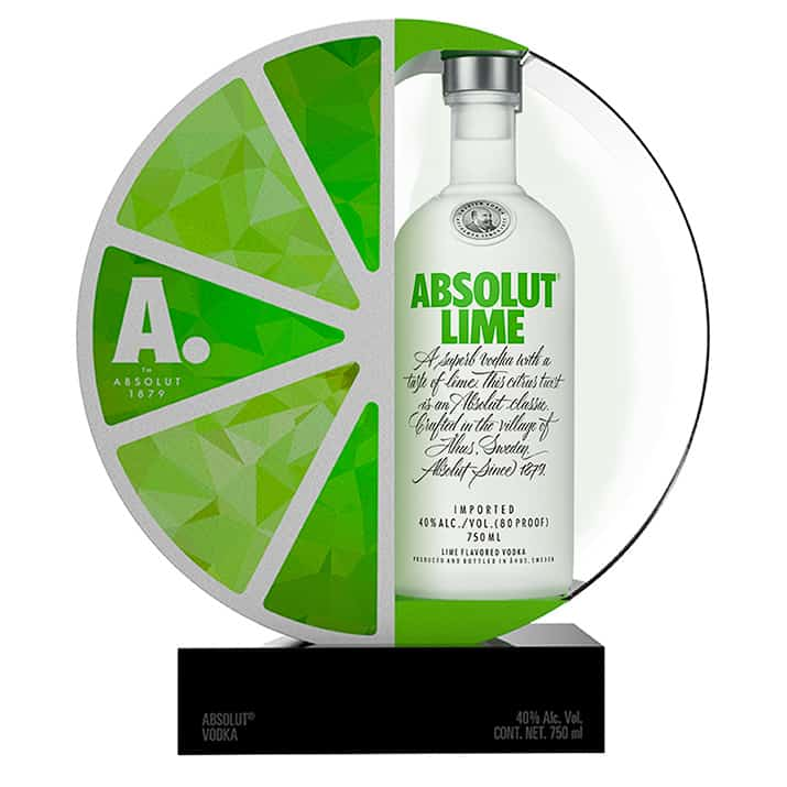 Absolut Lime México vodka 660 botellas, int2