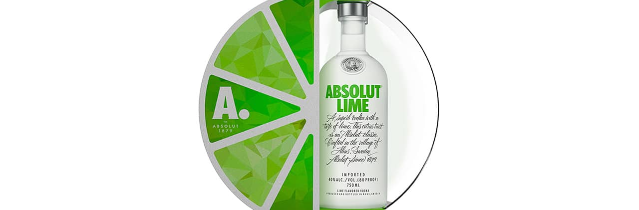 Absolut Lime México vodka 660 botellas, portada