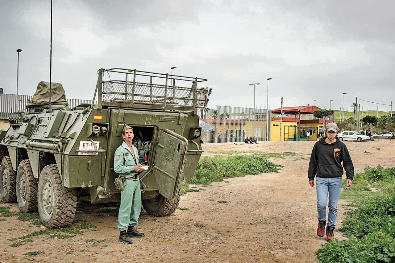 refugiados migracion frontera ceuta y melilla, int4