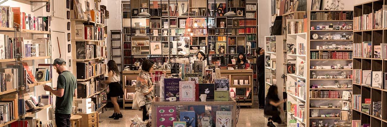 la increíble librería colonia roma buick encore, portada
