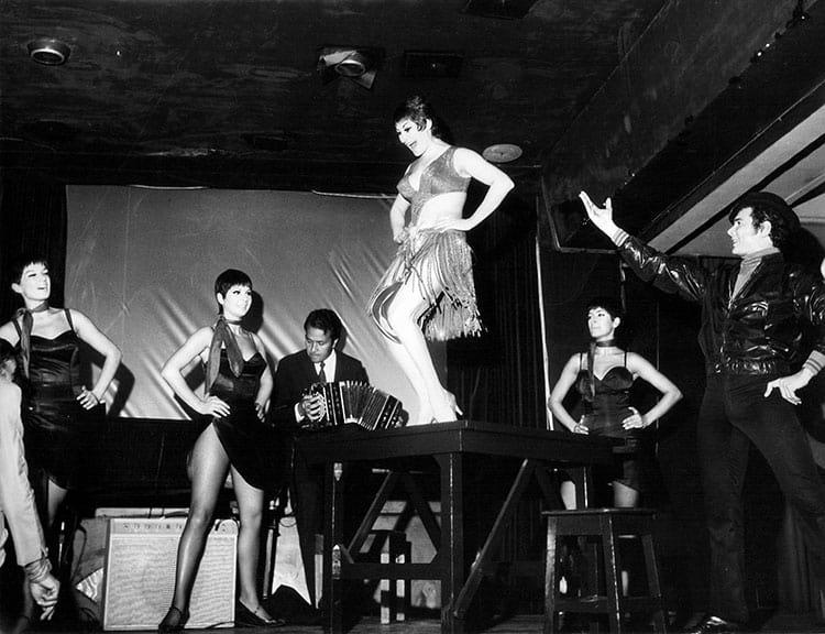 María Nieves bailarina de tango argentina Juan Carlos Copes