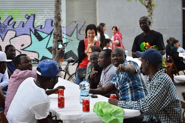 migrantes áfrica subsahariana españa barcelona ritmos para el paraíso, int2