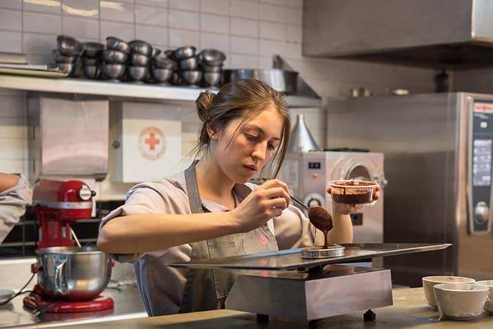 La chef Sofía Cortina, del Hotel Carlota 1