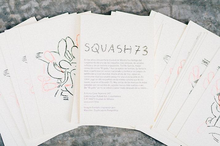 Squash 73 San Rafael teatro arte comida, int4