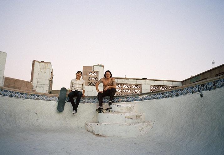 Tino Razo party in the back fotografía skaters albercas, int2