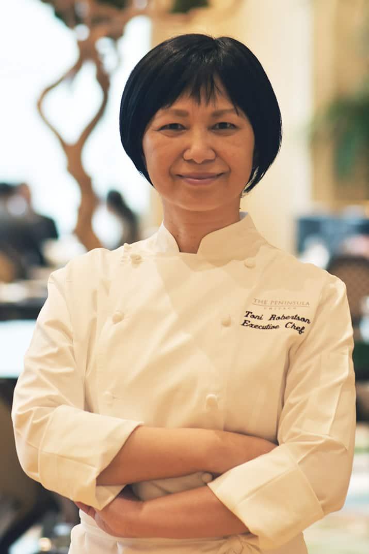 Toni Robertson chef ejecutiva the peninsula hotels chicago, int2