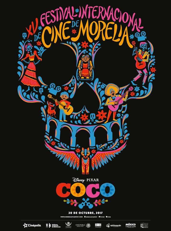 coco pixar película inaugural festival de cine de morelia 2017, int