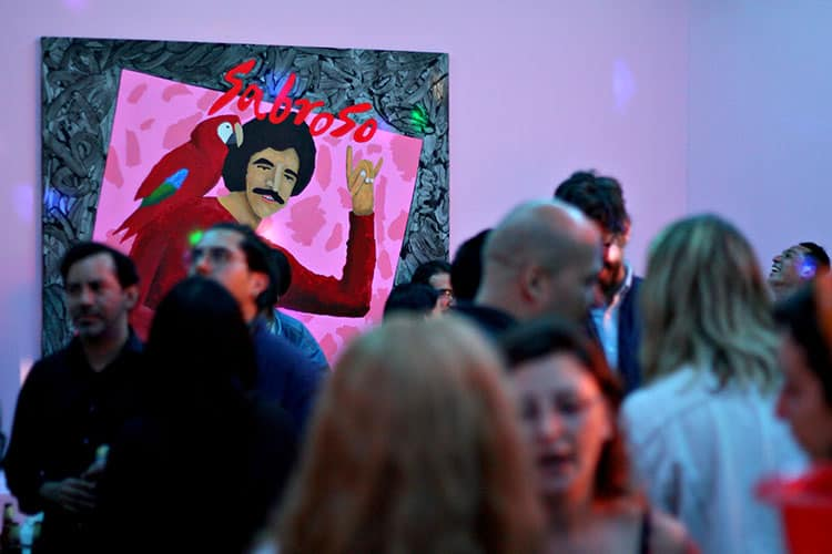 Radamés Juni Figueroa exhibe en Anonymous Gallery