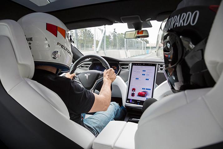 Tesla México, interiores