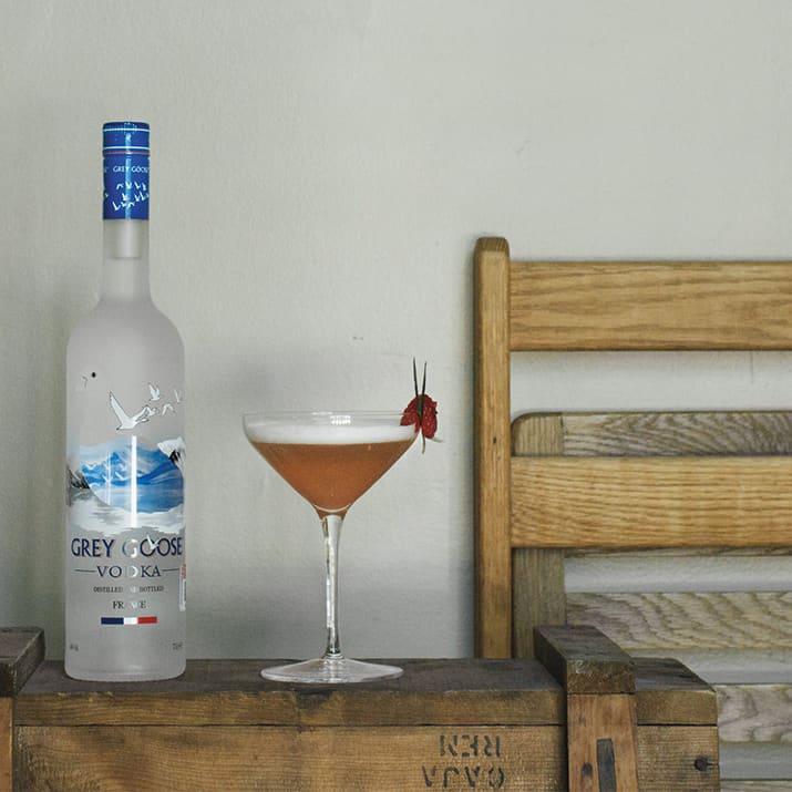 mixología y cocteles de verano, grey goose