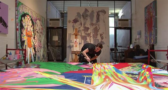 Jim Carrey Pintor, int4