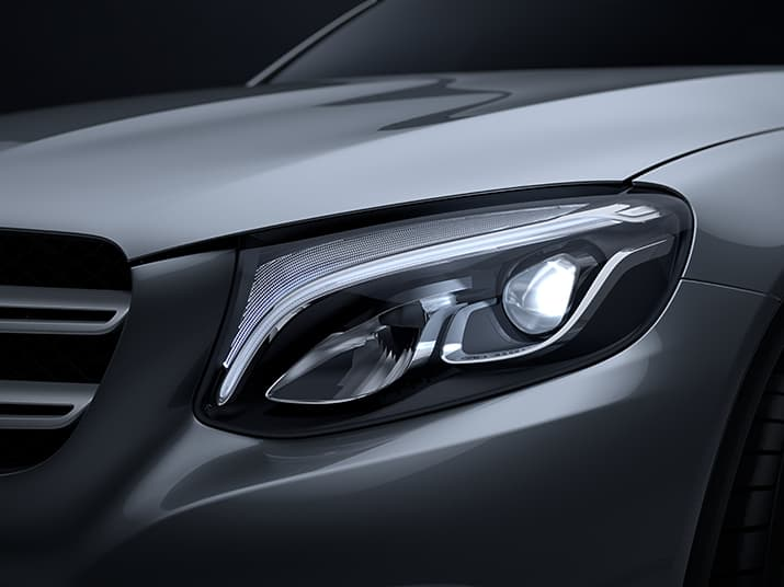 Diseño y desempeño de la nueva GLC Mercedes Benz 2