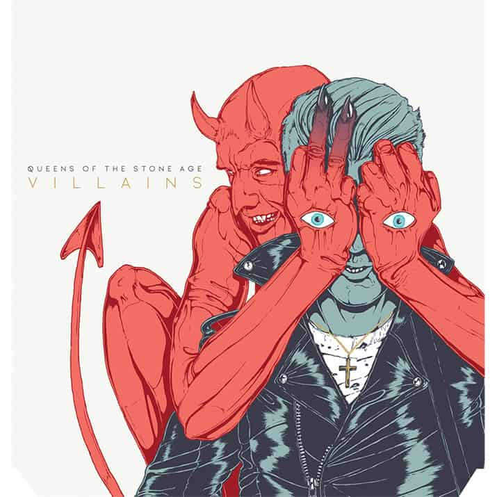 queens of the stone age villains nuevo disco, interior