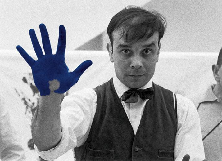 Yves Klein en el MUAC, int2