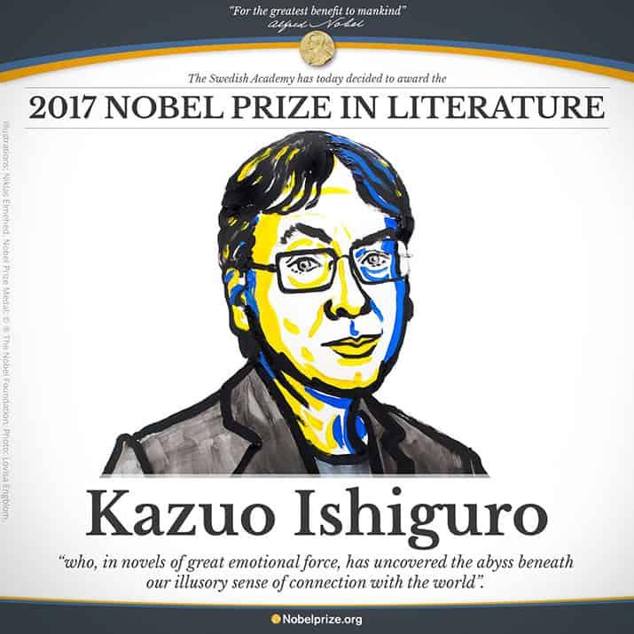 Kazuo Ishiguro Premio Nobel de Literatura, int