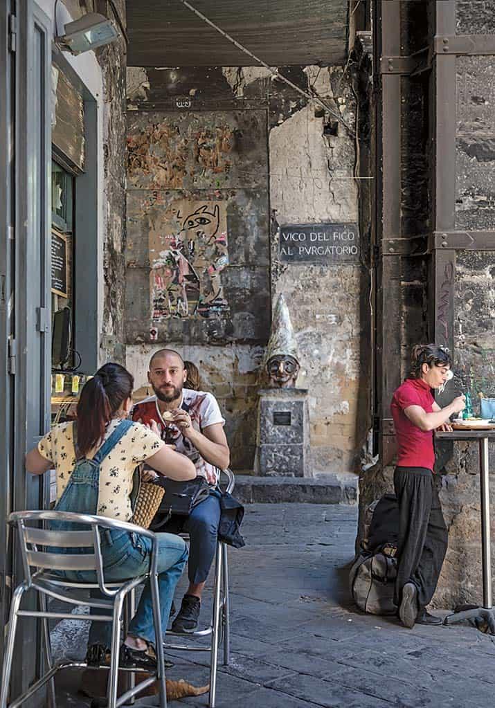 lugares de interés en Nápoles Italia