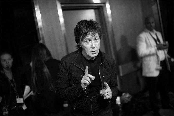 Paul McCartney gira one on one