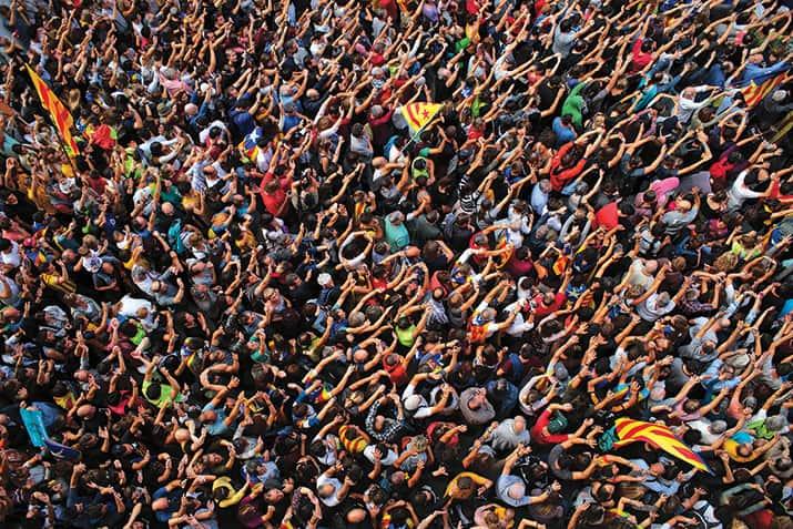 conflicto independentista en Cataluña, int1
