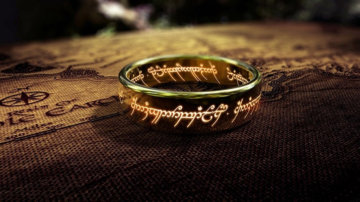 Tolkien en Amazon señor de los anillos, int