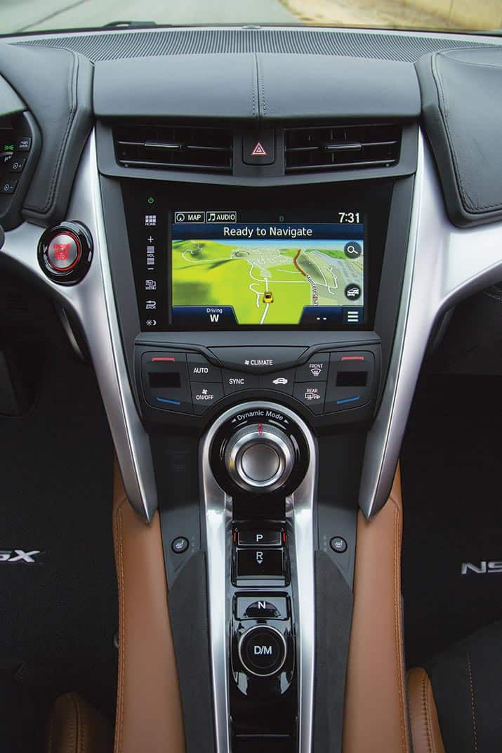 Acura Nsx, int1