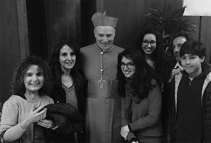 Carlos Aguiar Retes arzobispo, int