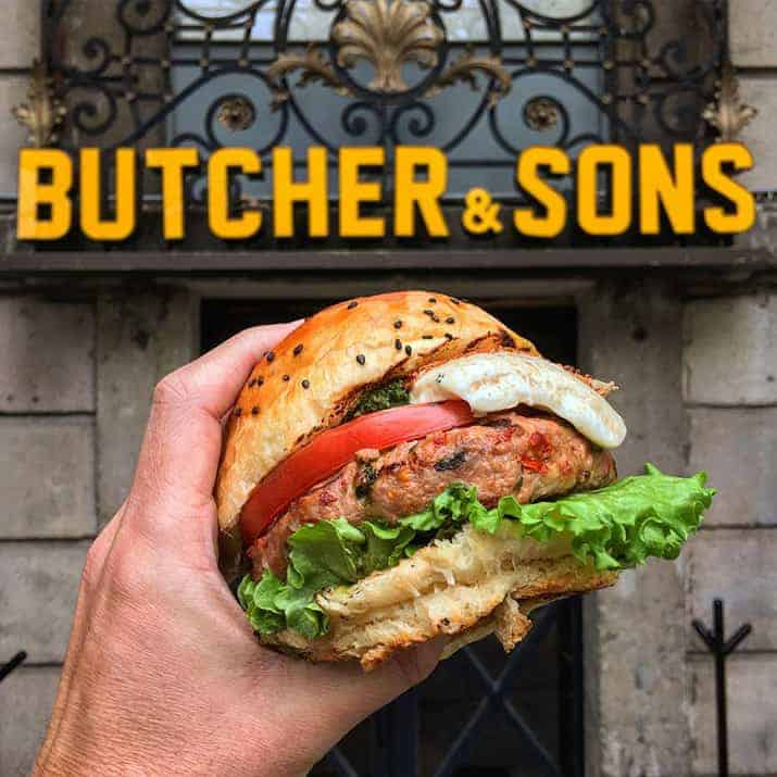Restaurantes FICUNAM 2018, Butcher & Sons