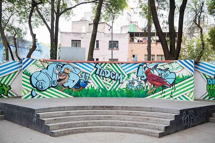 grafiti ciudad de méxico, int3