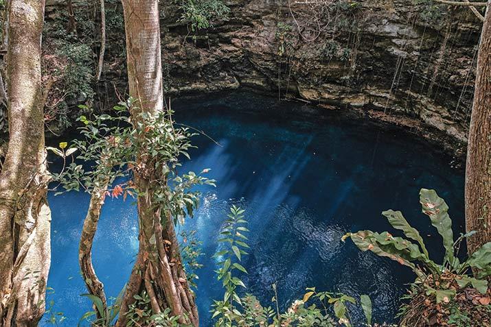 el gran acuífero maya, cenote