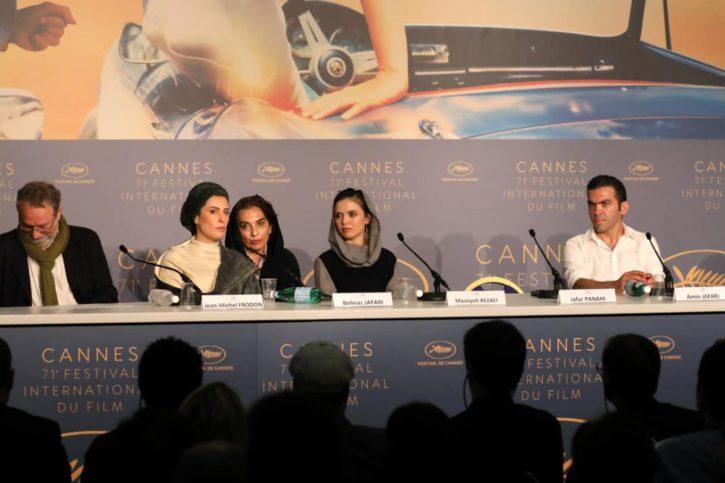 Kirill Serebrennikov Jafar Panhani Festival de Cannes, int1