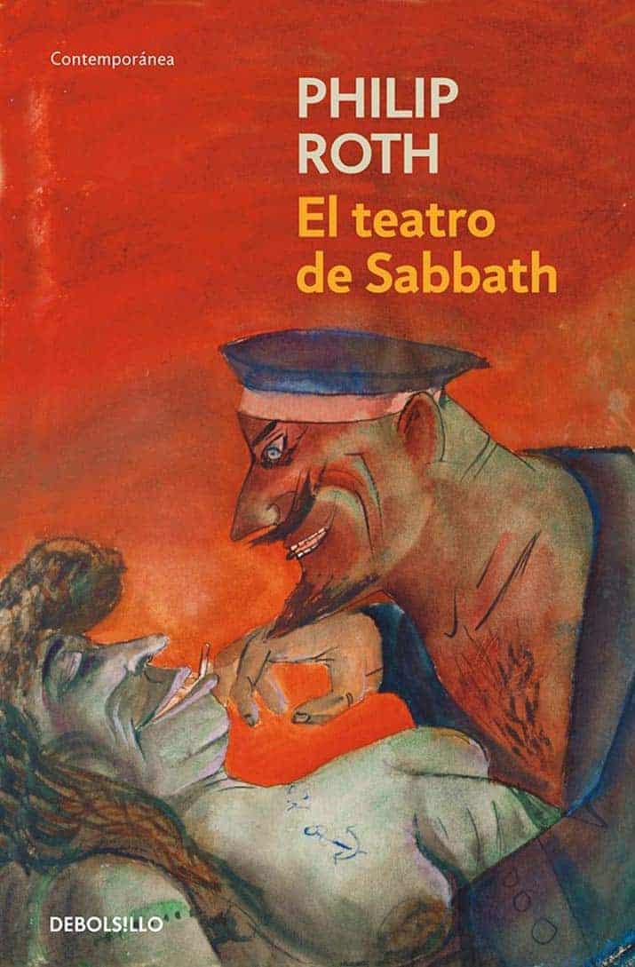 libros philip roth, El teatro de Sabbath