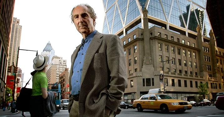 libros philip roth, retrato