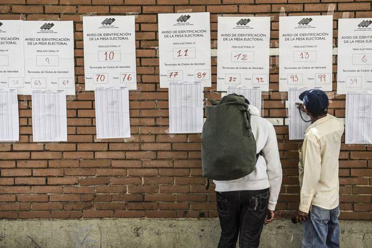 reelecciones Venezuela 2018, foto 1