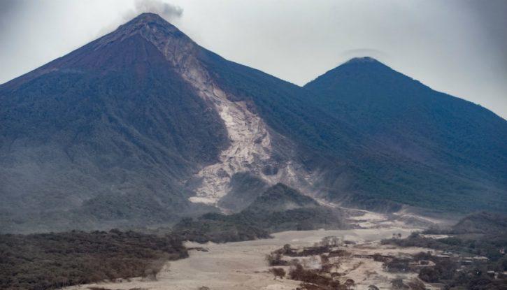 Erupcion Volcán de Fuego Guatemala, portada