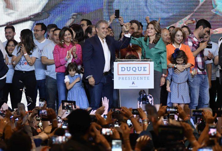 Iván Duque elecciones Colombia - Int. 1