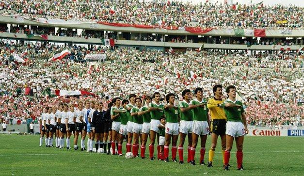 Emiliano Monge mundial México 86, int. 1