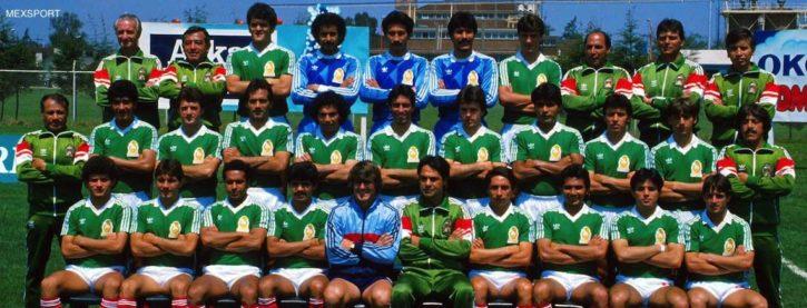 Emiliano Monge mundial México 86, int 7.