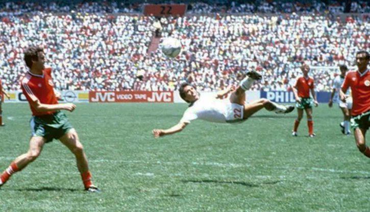 Emiliano Monge mundial México 86, int. 2