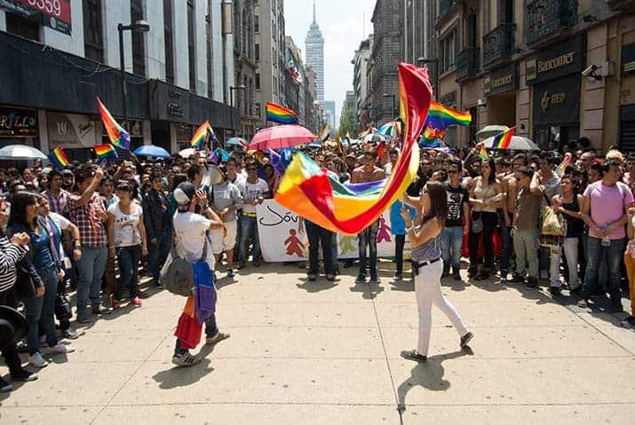 Uber Marcha LGBT, foto 1