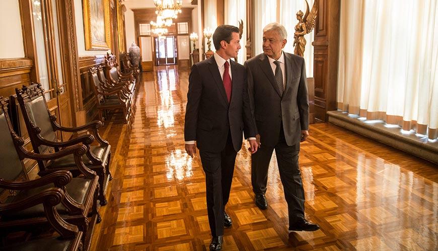 Primera reunión entre AMLO y Peña Nieto, int1