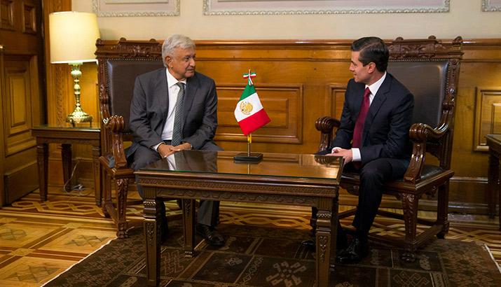 Primera reunión entre AMLO y Peña Nieto, int2