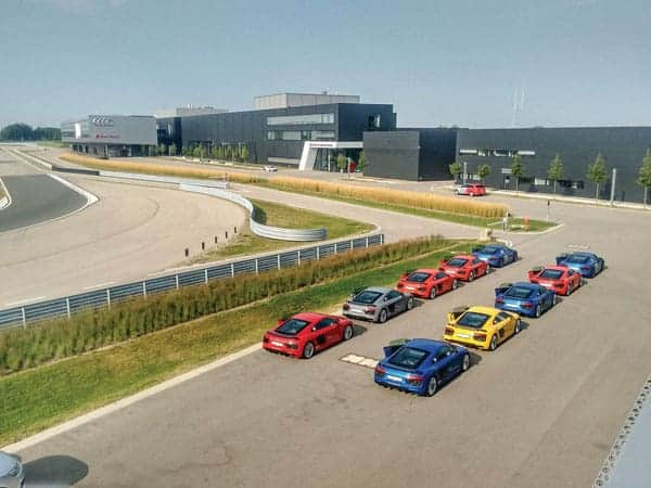 Audi driving experience center, int1