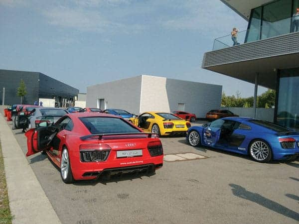 Audi driving experience center, int2