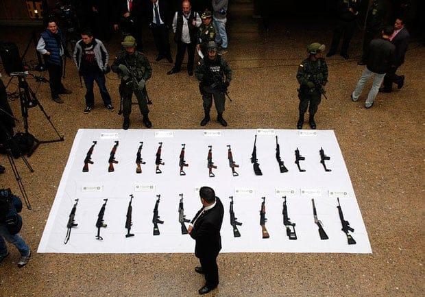 proceso de paz en Colombia, Distrito Salvaje
